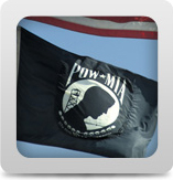 POW MIA Flags